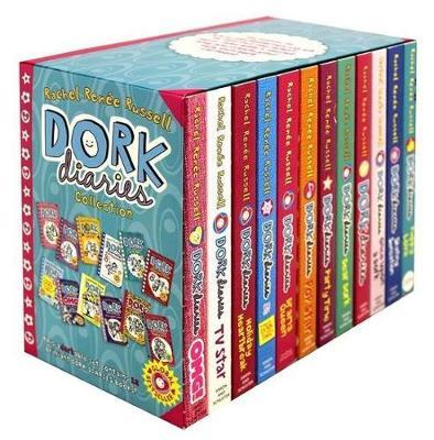 DORK DIARIES COLLECTION 12 BOOKS BOX SET