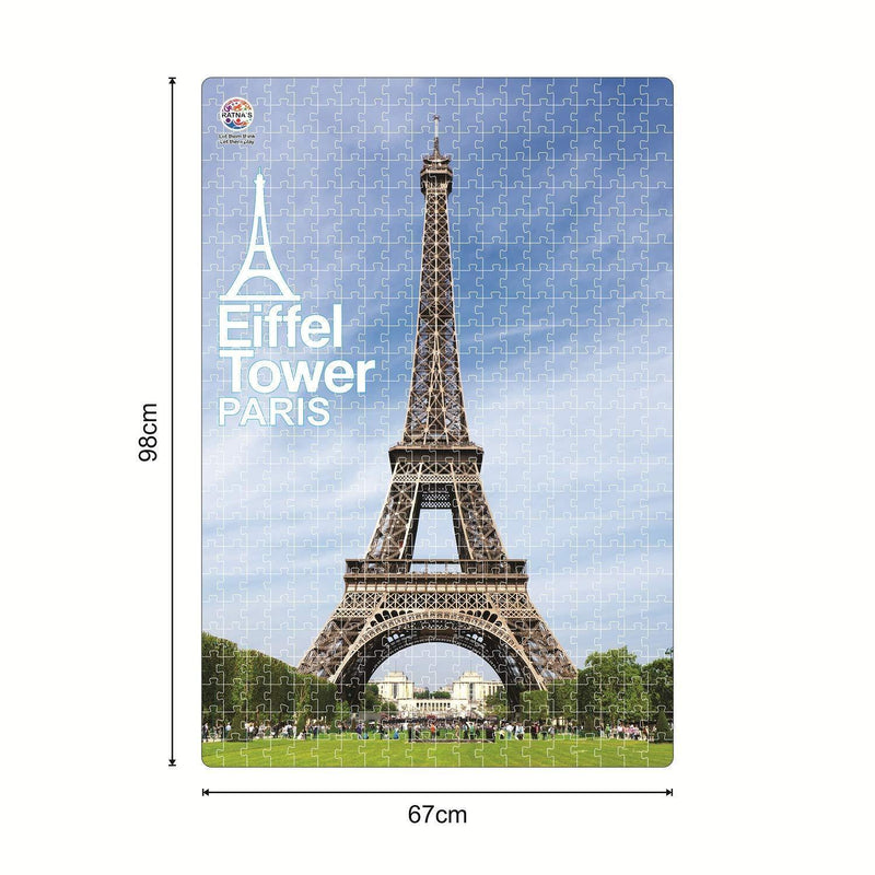 Eiffel Tower 500 Pieces Floor Jigsaw Puzzle(98 cm X 67 cm)