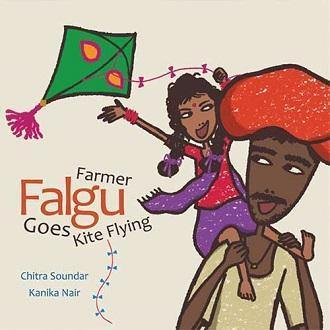 FARMER FALGU GOES KITE FLYING