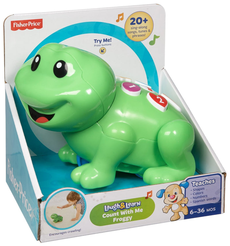 Fisher Price Laugh and Learncount with Me Froggy, Multi Color