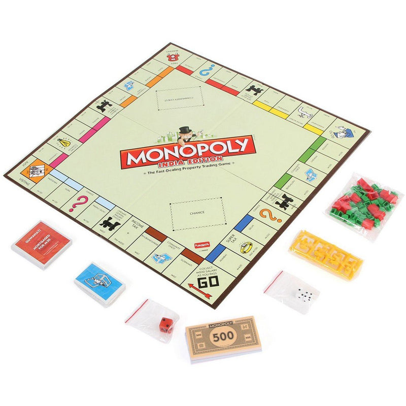 Funskool Monopoly Indian Edition, Multi Color