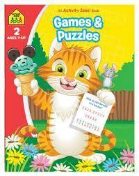 GAMES  PUZZLES AN ACTIVITY ZONE BOOK