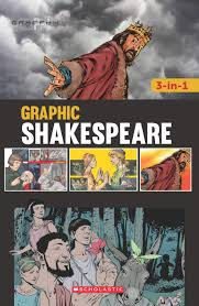 GRAPHIC SHAKESPEARE 3IN1