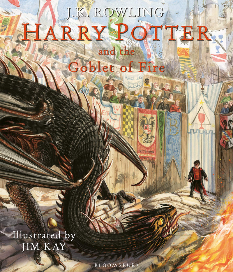 HARRY POTTER AND THE GOBLET OF FIRE ILLUSTRATED ED