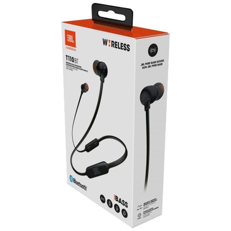JBL T110BT Pure Bass Wireless in-Ear Headphones with Mic