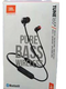 JBL Tune 165BT in-Ear Wireless Headphones (Black)
