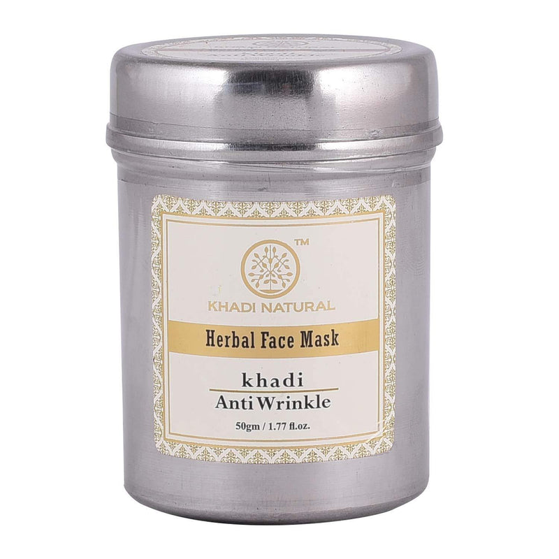 KHADI NATURAL AYURVEDIC ANTI WRINKLE FACE MASK