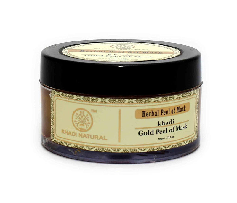 KHADI NATURAL AYURVEDIC GOLD PEEL OFF MASK
