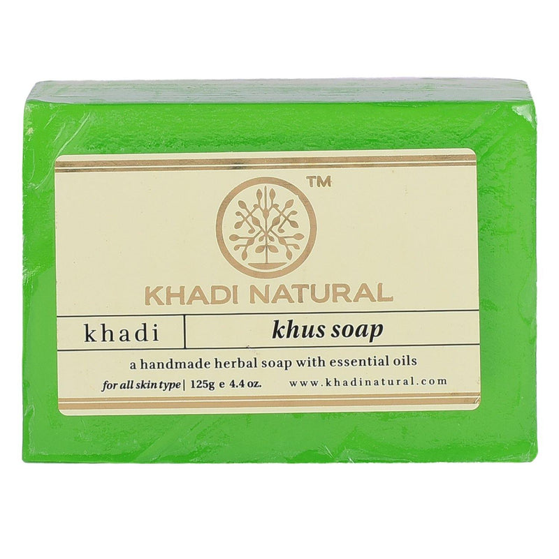 KHADI NATURAL AYURVEDIC KHUS SOAP
