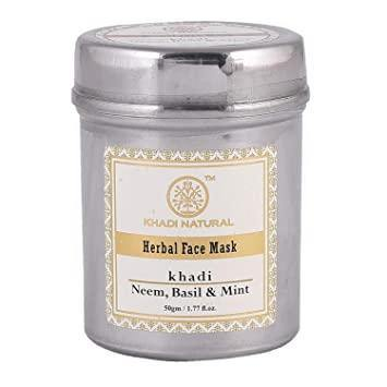 KHADI NATURAL AYURVEDIC NEEM BASIL & MINT FACE MASK