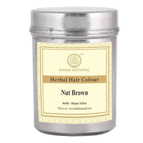 KHADI NATURAL AYURVEDIC NUT BROWN HENNA NATURAL HAZEL