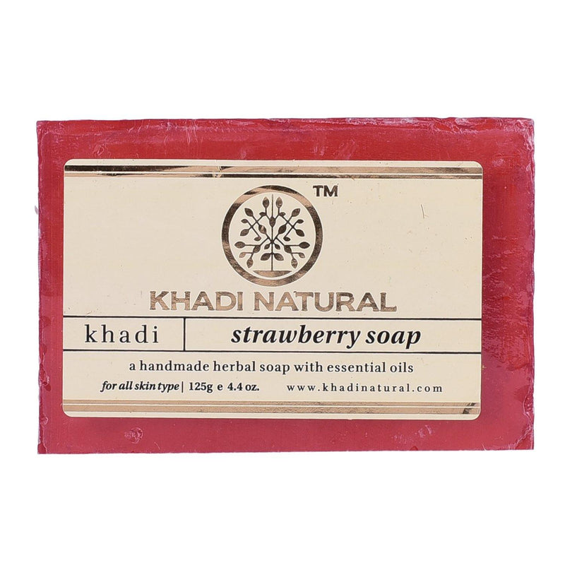 KHADI NATURAL AYURVEDIC STRAWBERRY SOAP