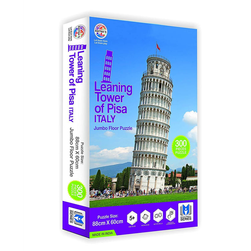 Leaning Tower of PISA Italy Jumbo Jigsaw Puzzle 300 Pieces(88 cm X 60 cm)Size