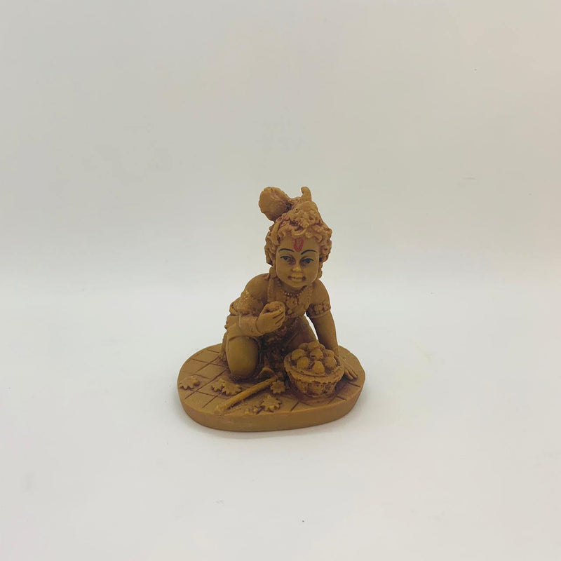 LORD KRISHNA | HEIGHT-3.5 INCHES COLOR-BROWN | D104