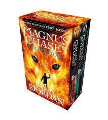 MAGNUS CHASE COLLECTION 3 BOOKS