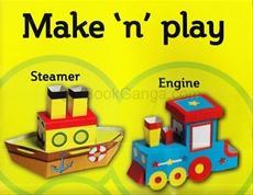 MAKE N PLAY STEAMER AND ENGINE