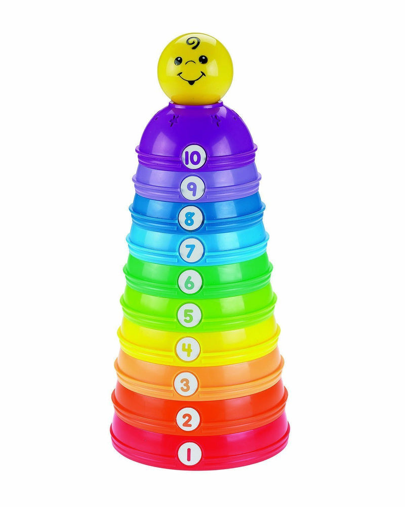 Mattel Fisher-Price Brilliant Basics Stack and Roll Cups