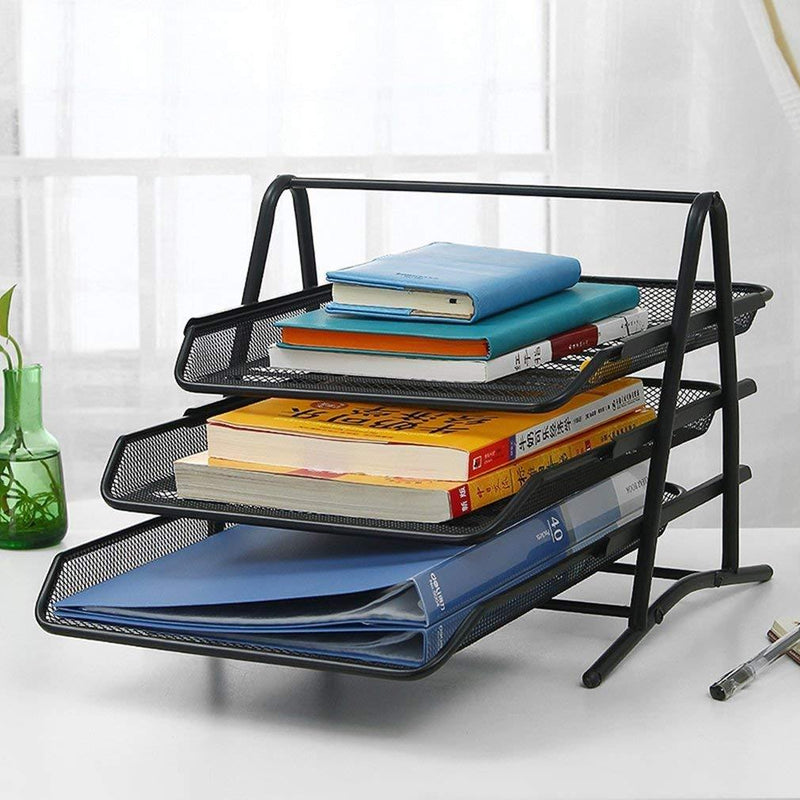METAL WIRE DOCUMENT TRAY SET