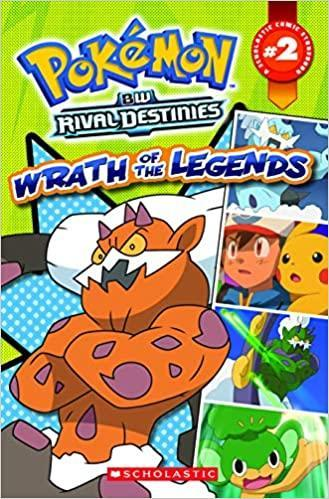 POKEMON COMIC READER NO 2 WRATH OF THE LEGENDS