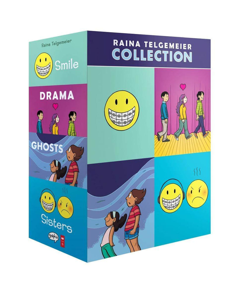 RAINA TELGEMEIER COLLECTION