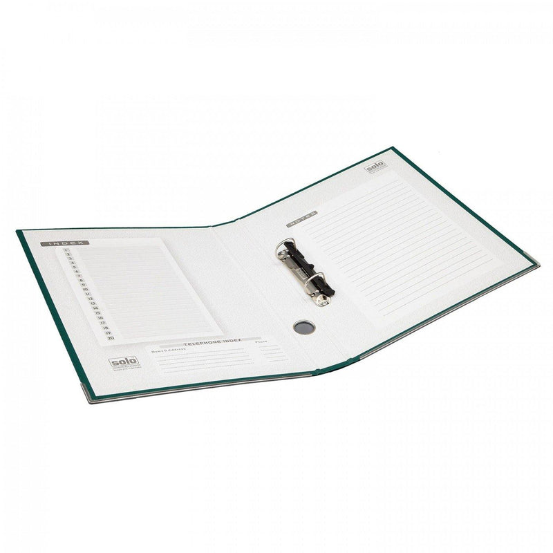 RB 902 PAPER BOARD 2-D-RING WITH LABEL POCKET A4