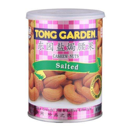 SALTED CASHEW NUTS 150GM CAN