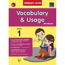 SAP VOCABULARY AND USAGE PRIMARY LEVEL WORKBOOK 1