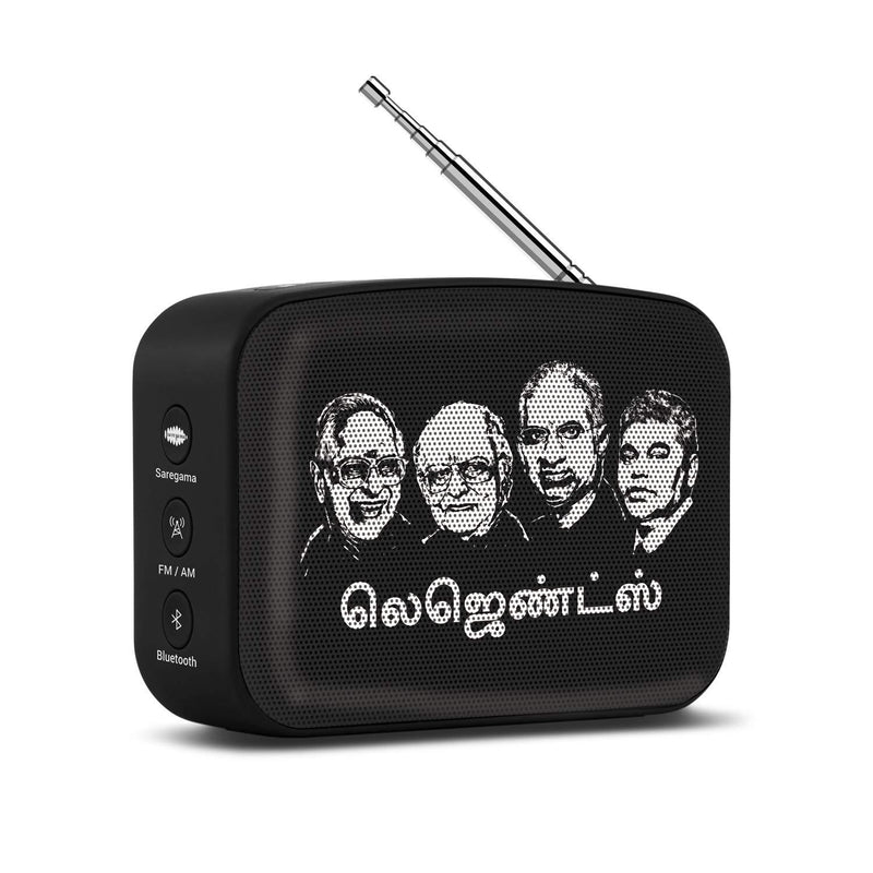SAREGAMA CARVAAN TAMIL MINI BLACK