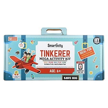 SMRT1017 MEGA ACTIVITY KIT TINKERER 6+