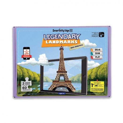 SMRT1046 EDGE LEGENDARY LANDMARKS MAGIC JIGSAW PUZZLE