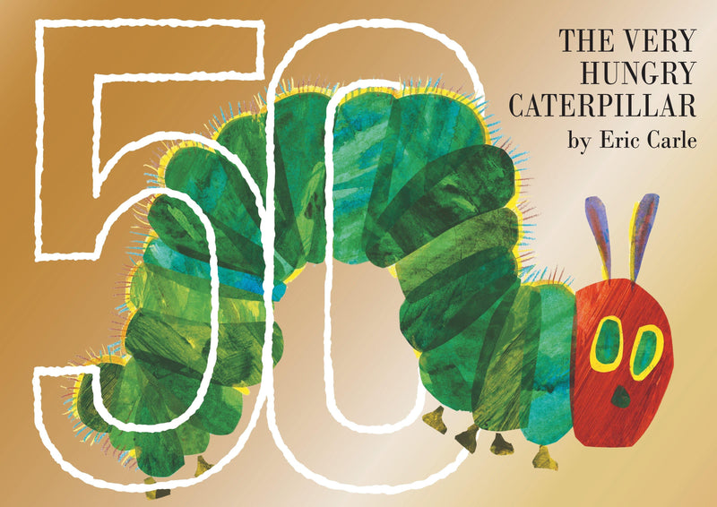 THE VERY HUNGRY CATERPILLAR 50TH ANNIVERSARY COLLECTORS EDITION
