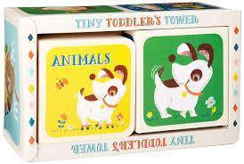 TINY TODDLERS TOWER ANIMALS