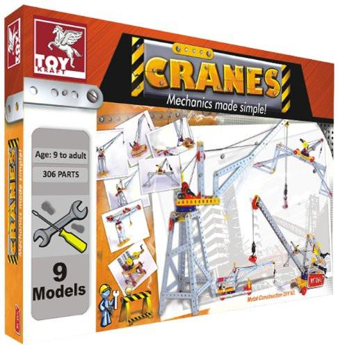 Toy Kraft M'Tek - Cranes, Multi Color