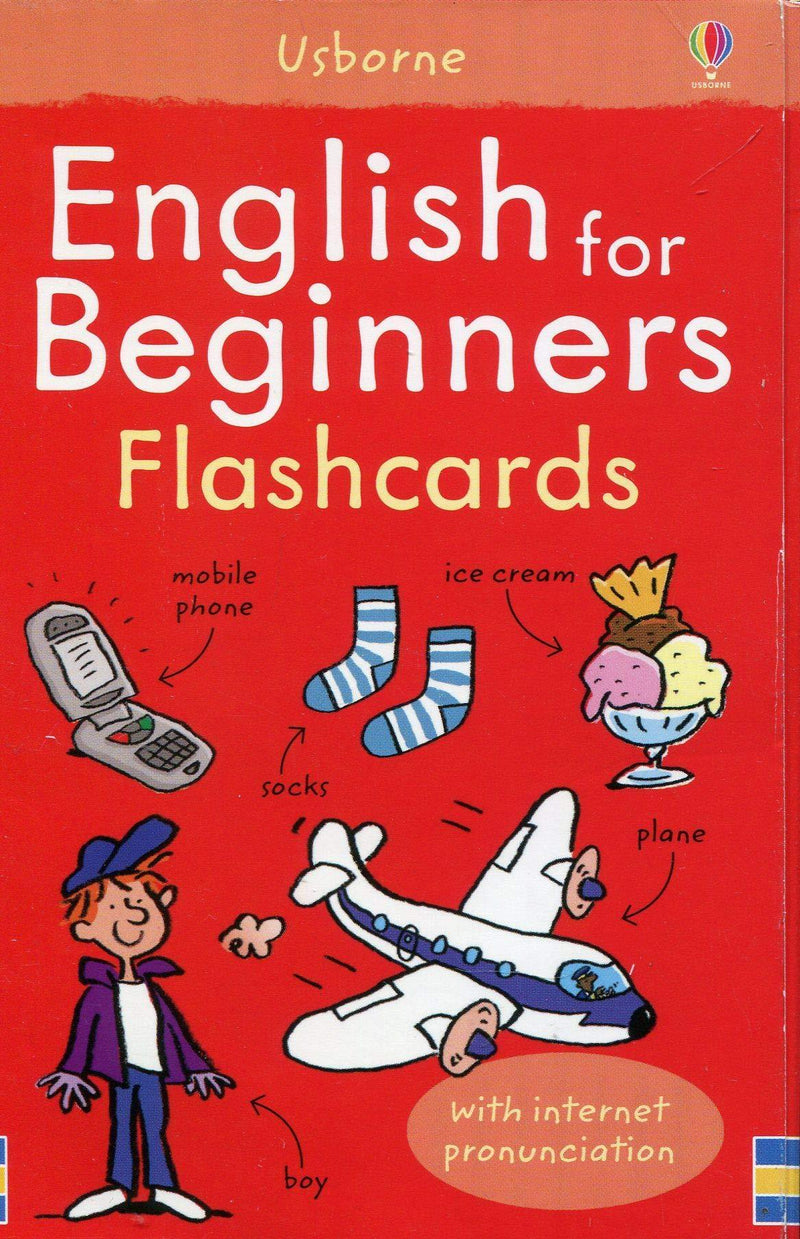 USBORNE ENGLISH FOR BEGINNERS FLASHCARDS