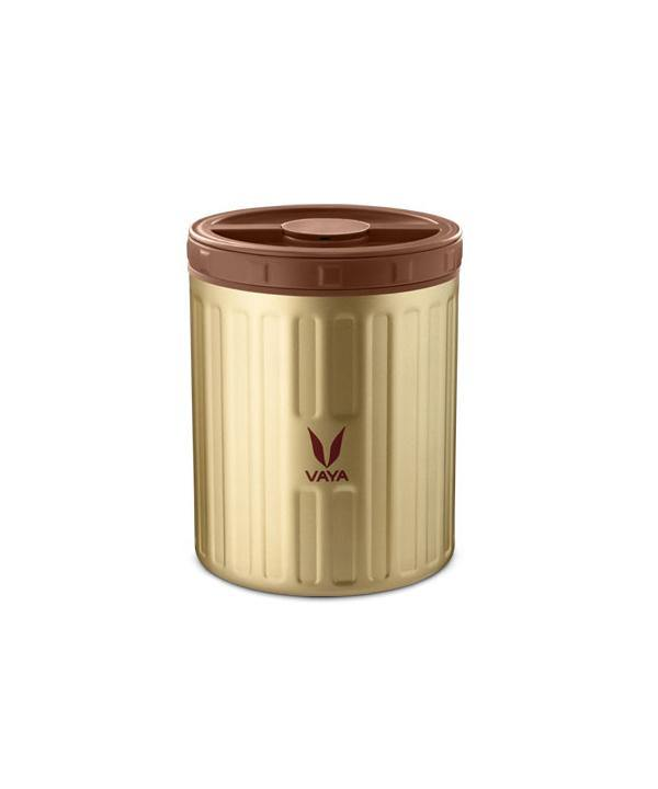 VAYA 500ML PRESERVE FOOD JAR GOLD