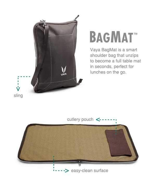 VAYA TYFFYN WITH BAG-MAT STYLE - GRAPHITE 1300ML