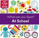 WHAT CAN YOU SPOT AT SCHOOL