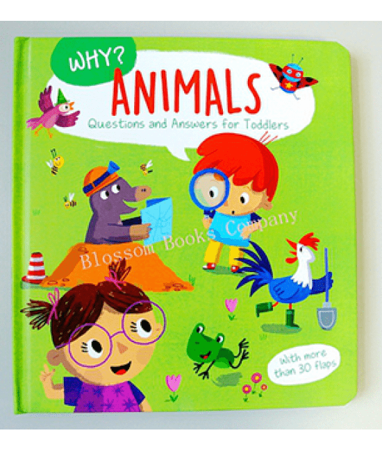 WHY ANIMALS QUESTIONS AND ANSWERS FOR TODDLERS