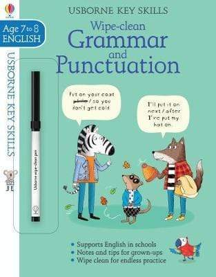 WIPE CLEAN GRAMMAR AND PUNCTUATION 7 8