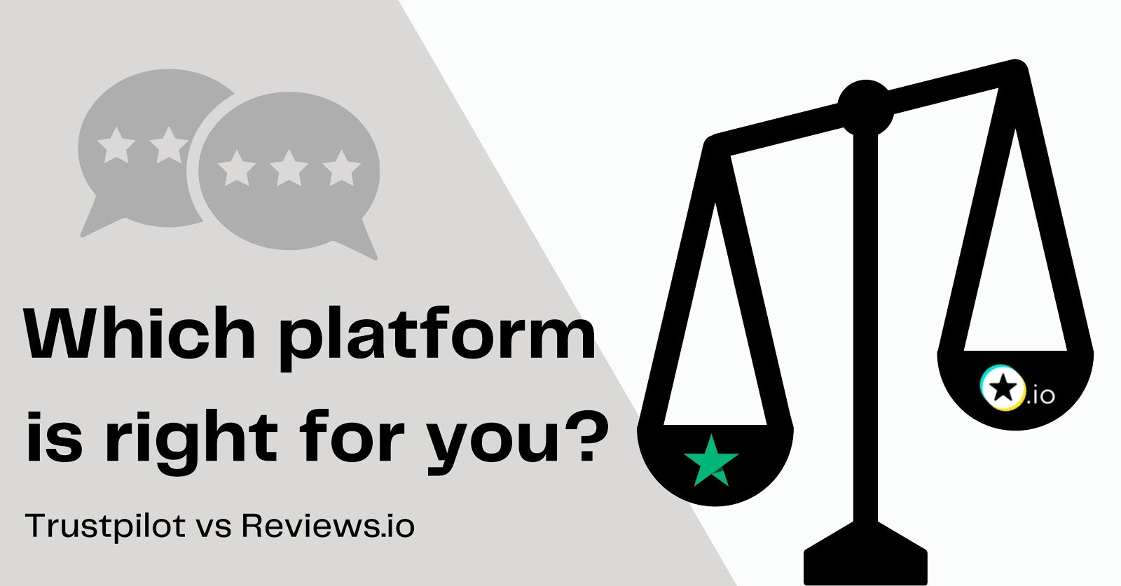 REVIEWS.io vs. Trustpilot: Which review platform is right for you?