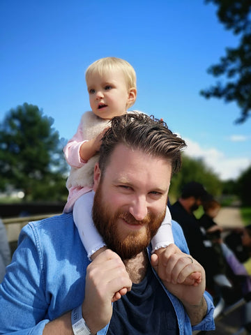 Adam and his daughter Zara
