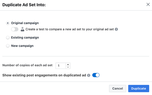 Facebook Ad Updates
