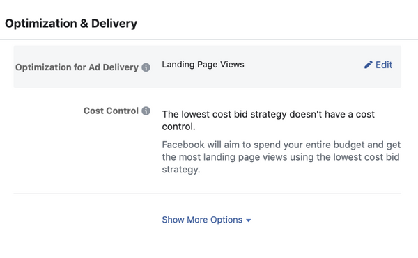 A faster way to change your Ad Set Optimization