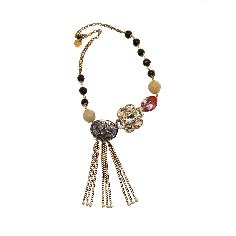Abstract Neckpiece N-893