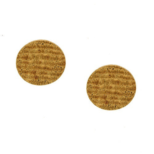 Earrings Circle studs E-140
