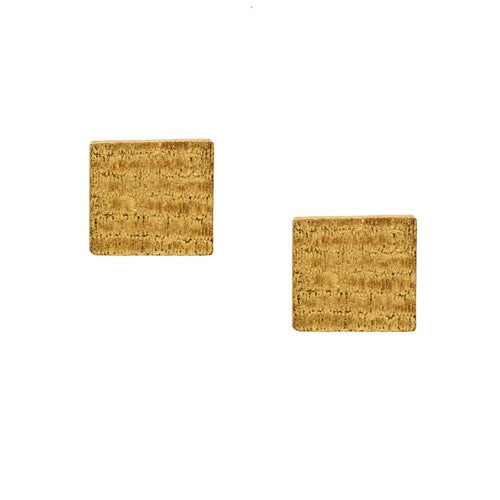 Earrings Square Studs E-147