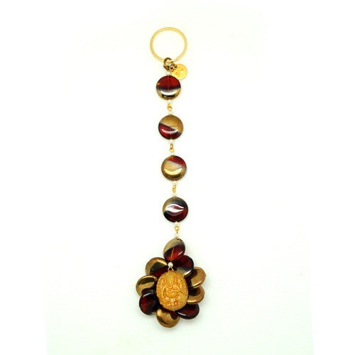 Ganesh Door Hangings with red stones DH-15