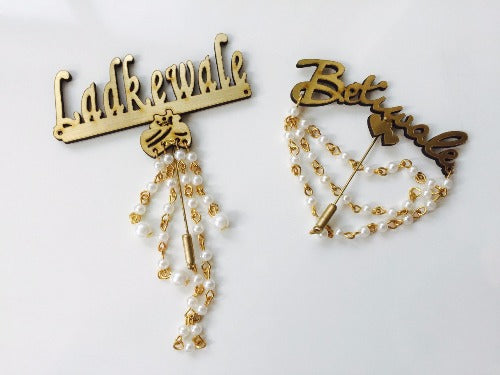 Wedding Brooch Set- 01