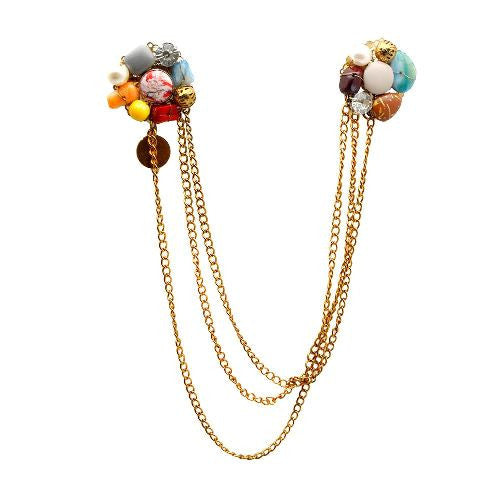Multi Colour Brooch BCH-12A