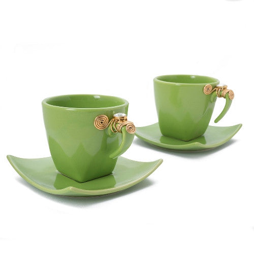 Embellished teacups TC-08